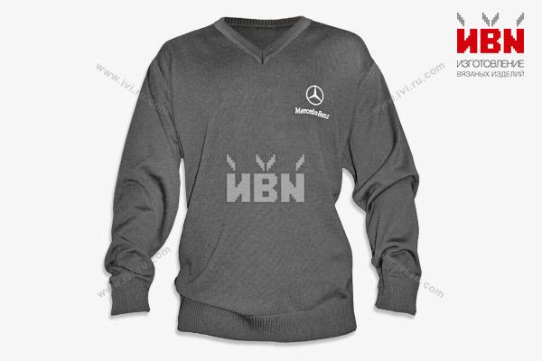 Джемпер с логотипом Mercedes