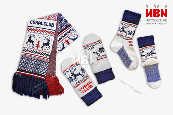 Комплект с логотипом Coral Club