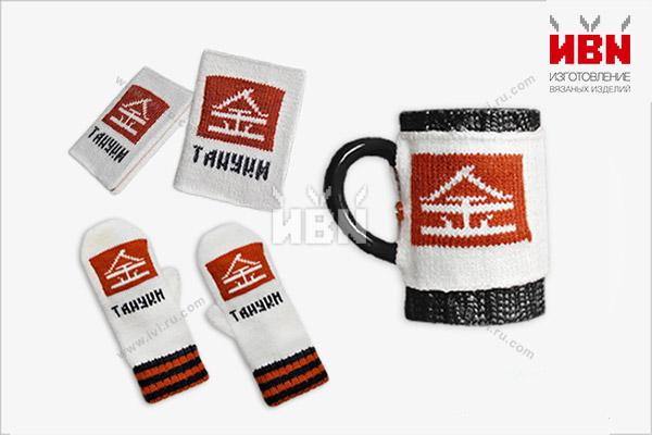 Вязаный комплект с логотипом ТАНУКИ