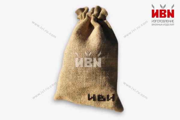 Мешочек подарочный с логотипом ИВИ
