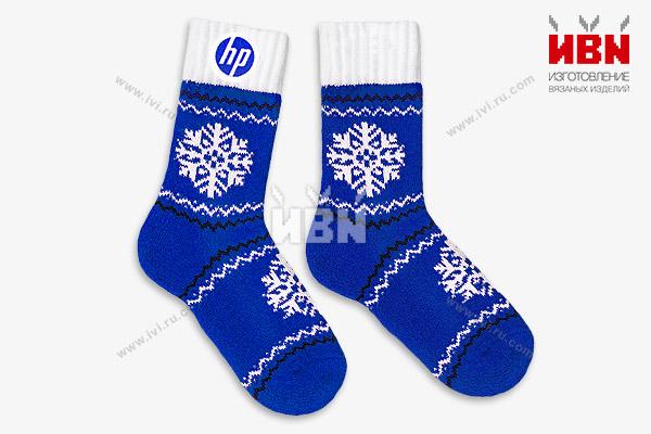 Носки с логотипом HP