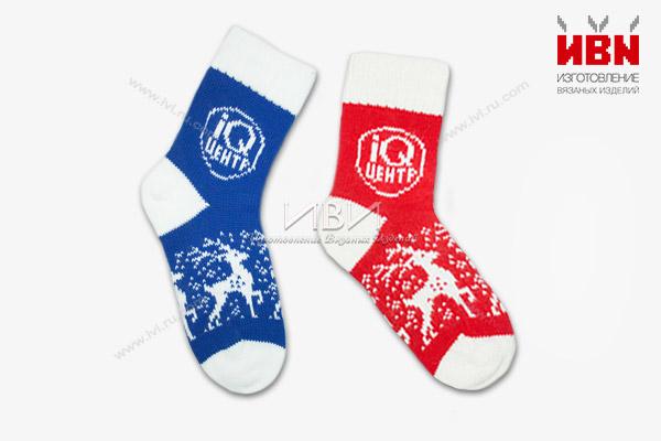 Носки с логотипом IQ Центр