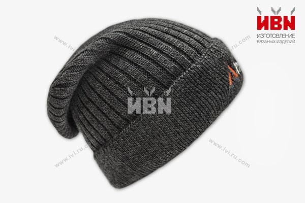 Вязаная шапка с логотипом Alltech