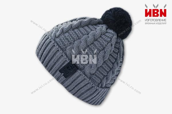 Вязаная шапка с логотипом CREA GAMES