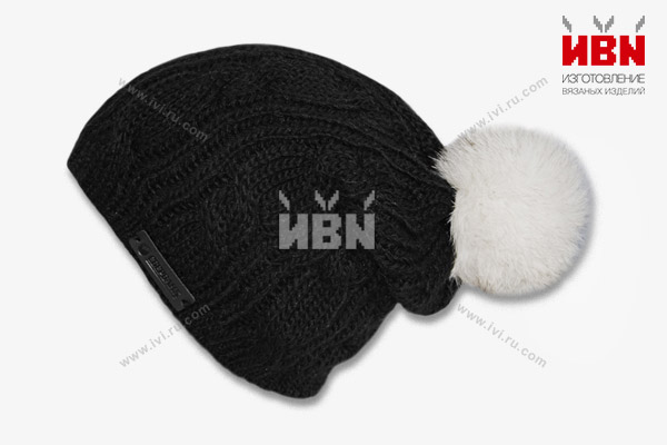 Вязаная шапка с логотипом СБЕРБАНК