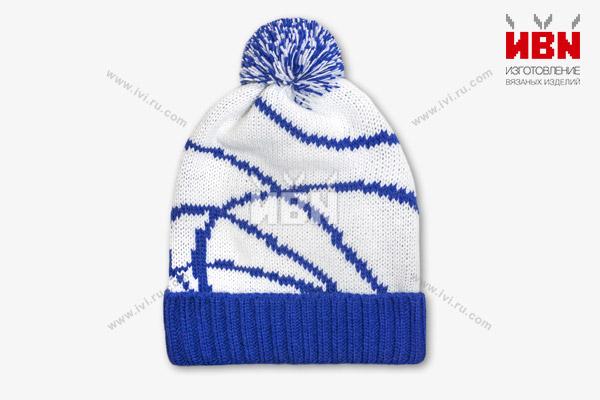 Вязаная шапка RUDN