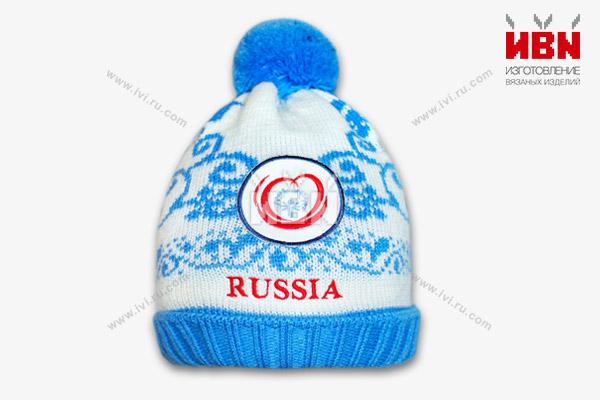 Шапка с логотипом Russia