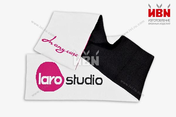 Шарф с логотипом LARO STUDIO