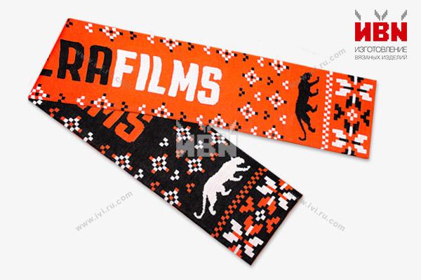 Вязаный шарф с логотипом PANTERA