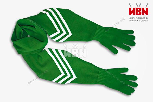 Шарф с перчатками СБЕРБАНК