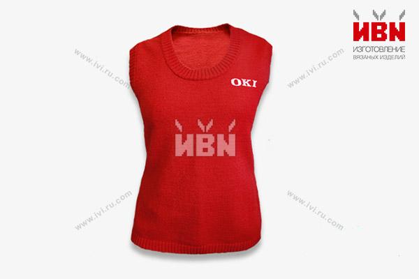 Жилет с логотипом OKI